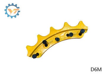 D6C Durable Drive Sprocket Bulldozer&Excavator Undercarriage Parts